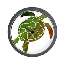 swimmingturtle Wall Clock