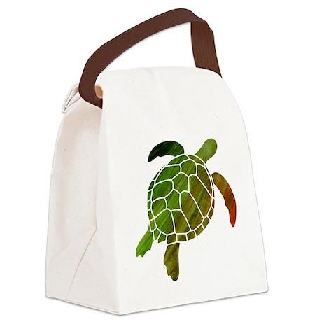 swimmingturtle Canvas Lunch Bag