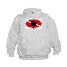 Sheriff Diver (oval) Hoodie