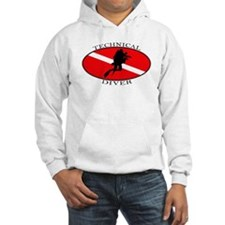 Technical Diver (oval) Hoodie