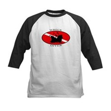 Wreck Diver (oval) Tee