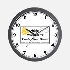 Welcome to Hawaii - USA Wall Clock