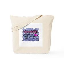"Graffiti Style ""Hoochie Momma"" Design Tote Bag"
