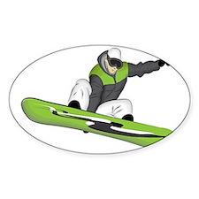 SnowboarderPocket Bumper Stickers
