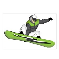 SnowboarderPocket Postcards (Package of 8)