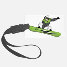 SnowboarderPocket Luggage Tag