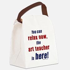 relax_art Canvas Lunch Bag