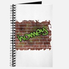 "Graffiti Style ""Homey"" Design Journal"