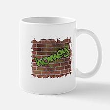 "Graffiti Style ""Homey"" Design Mug"