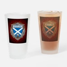 Scotland Soccer Keepsake Box Drinking Glass