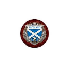 Scotland Soccer Keepsake Box Mini Button