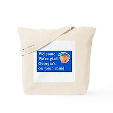 Welcome to Georgia - USA Tote Bag