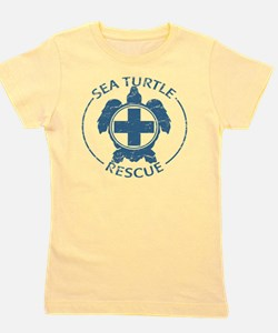 seaturtlerescue Girl's Tee