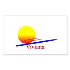 Viviana Rectangle Decal