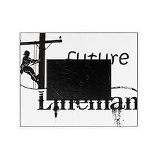 future lineman1_black Picture Frame