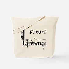 future lineman1_black Tote Bag