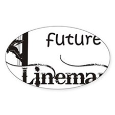 future lineman1_black Decal