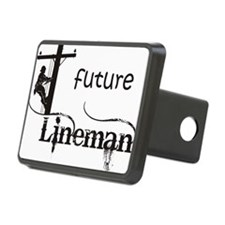 future lineman1_black Hitch Cover
