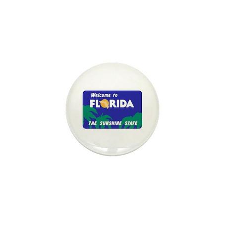 Welcome to Florida - USA Mini Button