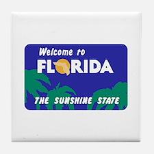 Welcome to Florida - USA Tile Coaster