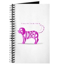 Andrea pink puppy Journal