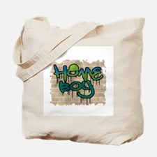 """Graffiti Style """"Home Boy"""" Design Tote Bag"""