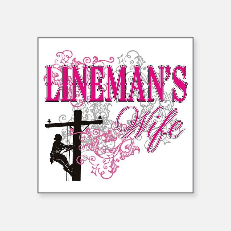 Download Lineman Wife Stickers   Lineman Wife Sticker Designs ...