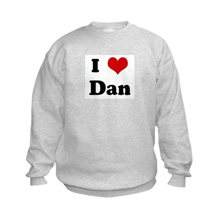 I Love Dan Kids Sweatshirt