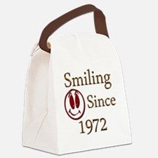 smiling 72 Canvas Lunch Bag