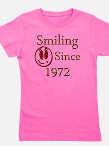 smiling 72 Girl's Tee