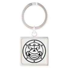 002-Seal-of-Agares-q100-500x497 Square Keychain