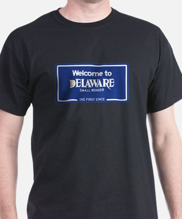 Welcome to Delaware - USA T-Shirt
