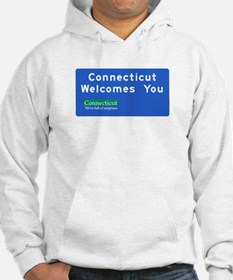 Welcome to Connecticut - USA Hoodie