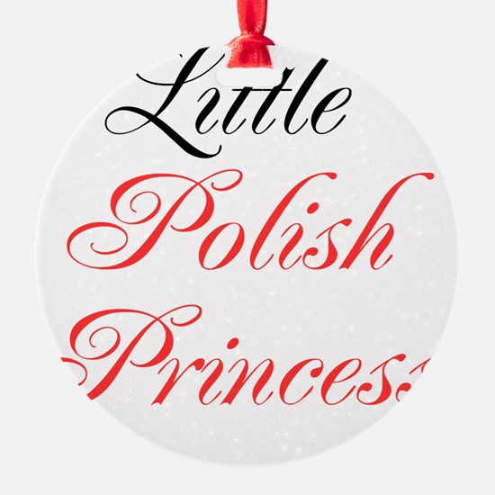Little Polish Princess Ornament