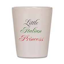 Little Italian Princess Shot Glass