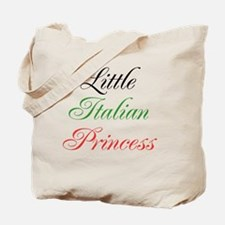 Little Italian Princess Tote Bag