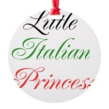 Little Italian Princess Ornament