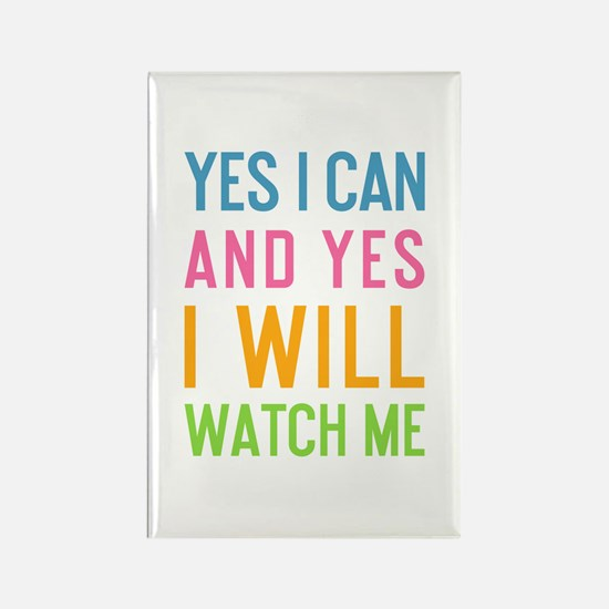 Funny Sayings Rectangle Magnet (10 pack)