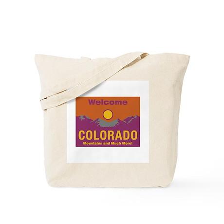 Welcome to Colorado - USA Tote Bag