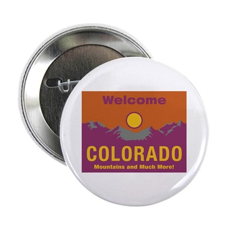 "Welcome to Colorado - USA 2.25"" Button (10 pack)"