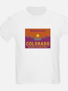 Welcome to Colorado - USA Kids T-Shirt