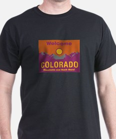 Welcome to Colorado - USA T-Shirt