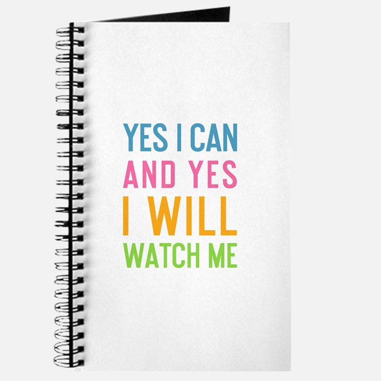Cute Yes i can Journal