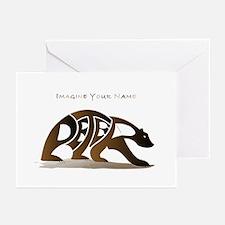 Peter brown bear Greeting Cards (Pk of 10)