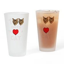 martinheadsBIGR TRANSPARENT Drinking Glass