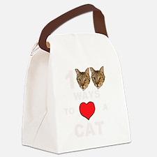 martinheadsBIGR TRANSPARENT Canvas Lunch Bag