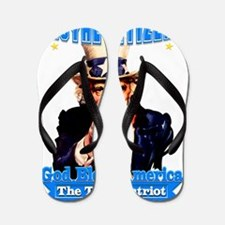 The True Patriot Flip Flops