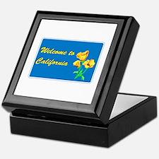Welcome to California - USA Keepsake Box