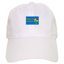 Welcome to California - USA Baseball Baseball Cap