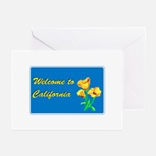 Welcome to California - USA Greeting Cards (Packag